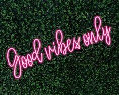 Happy Birthday Neon Sign Flex Light Sign Led Neon Custom Party | Etsy Neon Wall Signs, Custom Neon Signs, Led Neon Signs, Neon Sign Shop, Pink Neon Sign, Wedding Photo Booth, Wedding Photos, Youre Like Really Pretty, Neon Logo
