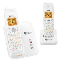 AT EL51209 DECT 6.0 Cordless Phone, White/Grey, 2 Handsets by AT $79.99. AT Cid 2 Handsets