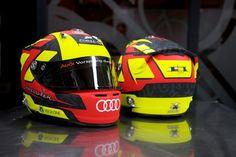 -273, Koop Kustoms Benoît Tréluyer 2014 Audi Helmet