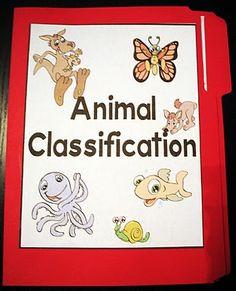 Cambridgeshire Academy: Free Animal Classification Lapbook