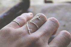 Twig Ring  Twig Ring Sterlingsilber Zweig von foxandthefawn auf Etsy