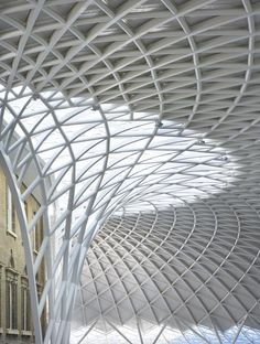 """""""ended up at King's Cross""""...  Western concourse, King's Cross Station, London / McAslan & Partners"""
