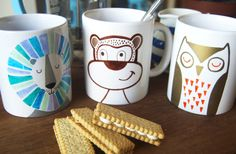 How to Use a Sharpie on a Mug #Sharpie #Art #Illustration #Homecraft by Felicity French
