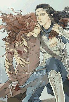 Maedhros and Fingon // Choistar | Art Amino