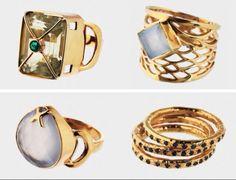 Gold rings!