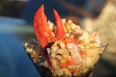 Lobster Popcorn - Nova Scotia Style