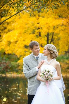 bride fall wedding russia