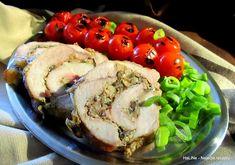 Nejedlé recepty: Vepřová roláda plněná žampiony a anglickou