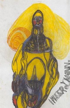 Johann Hauser : Henry Boxer Gallery - Outsider Artist Outsider Art, Image Painting, Painting & Drawing, Art Cobra, Art Dégénéré, Lausanne, Art Visionnaire, Degenerate Art, Art Brut