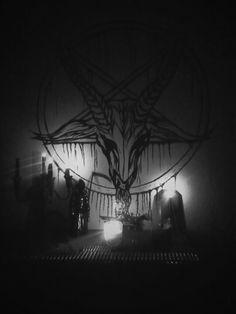 blood Black and White creepy candles satanism satanic altar ritual sigil satanic altar Demon Aesthetic, Satanic Art, Occult Art, Dark Lord, Dark Fantasy Art, Horror Art, Black Magic, Black Art, Les Oeuvres