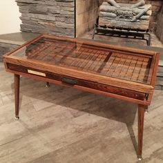 This item is unavailable Hamilton Printer's Tray Drawer Coffee Tab. - This item is unavailable Hamilton Printer's Tray Drawer Coffee Table with Tapered b - Funky Furniture, Furniture Projects, Home Furniture, Pallet Shelves, Pallet Benches, Pallet Cabinet, Pallet Couch, Pallet Tables, Pallet Bar