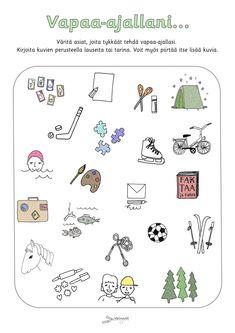 Finnish Language, Special Education, School Ideas, Kindergarten, Words, Peda, Kindergartens, Preschool, Preschools