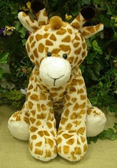 "This is pretty big for the price. I love giraffes. Plush Sitting Giraffe 15"" by Wishpets, http://www.amazon.com/gp/product/B004N5TZTA/ref=cm_sw_r_pi_alp_EBCBqb00GQ99D"