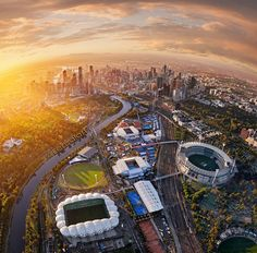 Places In Melbourne, Phantom 4, Victoria Australia, Aerial Photography, Miami Beach, Wonderful Places, Airplane View, Sunrise, Places To Visit