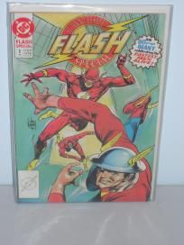 1990 DC The Flash 50th Anniversary Special #1 Comic Book Free Shipping!!