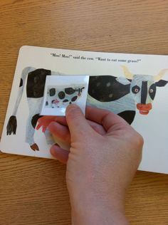 Scan book illustrations to make an Adapted Book for children with autism