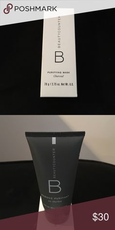 Beautycounter Purifying Charcoal Mask NIB Beautycounter Purifying Charcoal Mask NIB Beautycounter  Makeup