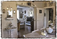 Sala Da Pranzo Shabby Chic : Beautiful shabby chic dining room design ideas home ideas