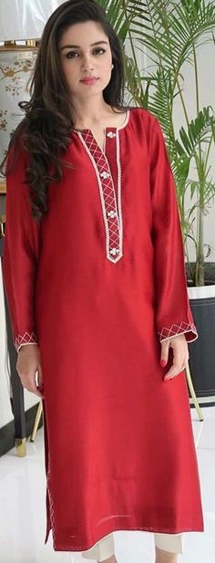 Frock Fashion, Fashion Wear, Fashion Outfits, Pakistani Dresses, Indian Dresses, Indian Outfits, Salwar Designs, Blouse Designs, Tandoori Masala