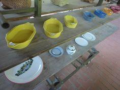 Local pottery in Buckow Dog Bowls, Germany, Pottery, Ceramica, Pottery Marks, Deutsch, Ceramic Pottery, Pots, Ceramic Art