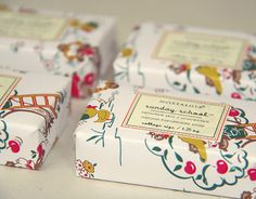Such pretty packaging!