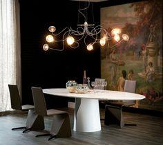 Chillout w doborowym towarzystwie  #ceiling #lamp #oktopus #cattelanitalia #interior #design