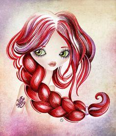 Scorpio Girl by sandygrafik