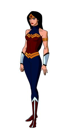DC:New Earth Wonder Woman Animated by kyomusha Wonder Woman Kunst, Wonder Woman Drawing, Wonder Woman Art, Wonder Women, Marvel Dc, Marvel Girls, Comics Girls, Superhero Characters, Dc Characters