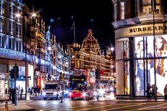 Looking up Brompton Road, from Hyde Park to Harrods. Image by Nicolas Stefanni / CC BY-SA 2.0