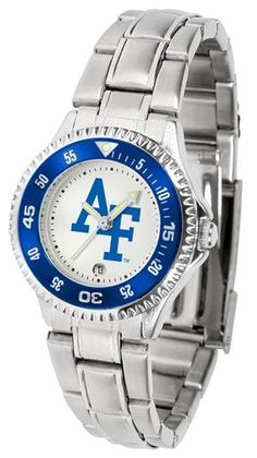 NCAA Air Force Falcons Competitor Ladies' Steel Watch
