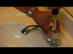 Reparaciones en casa : Cómo arreglar el lavabo que gotea