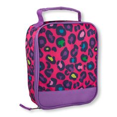 5685ed72d9 Up for sale is a New The Children s Place Animal Print Leopard Lunch Box Bag  for Girls that is NWT perfect as a GIFT for SCHOOL!