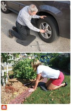 Lightweight and versatile! This kneeling pad is perfect for gardening, in the workshop, a seat for sporting events and more! Gardening Tools, Home Hardware, Be Perfect, Workshop, Events, Atelier, Work Shop Garage