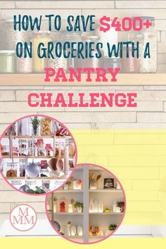 How'd you like to save $400 or more on groceries in a month? Who wouldn't right? Well you can by doing a pantry challenge.This article will explain how it work, the rules of the challenge plus tips and ideas to survive a pantry challenge. This is seriously a great way to control your grocery budget, save money, on food and declutter you kitchen by organizing your pantry, fridge, and freezer while saving money on food. #pantrychallenge #grocerybudget #mealplan #mealplanning Family Meal Planning, Budget Meal Planning, Meal Planning Printable, Groceries Budget, Free Groceries, Save Money On Groceries, Cheap Grocery List, Dirt Cheap Meals, Save On Foods