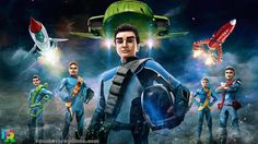 Thunderbirds Are Go! Read and play through all your favourite Thunderbirds Are Go episodes. Thunderbirds Are Go - Adventures makes reading fun by mixing enga. Timeless Series, Richard Taylor, Go Tv, Herald News, Thunderbirds Are Go, Retro Rocket, Tv Reviews, Indian Heritage, Kids Tv