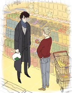 Sherlock, what did you do and why is there a call for clean-up on the milk aisle?