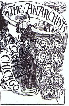 The Chicago Anarchists by Walter Crane, 1894  Crane's tribute to the Haymarket Martyrs