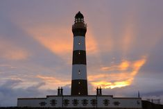 North Ronaldsay lighthouse at sunrise, Orkney, Scotland by Ian Cowe on Flickr