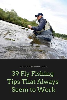 Fly fishing is such form of fishing, but sometimes it can seem hard to get a bite! Here are 39 fly fishing tips that always seem to work! fishing fishing fishing tips fishing tying Ice fishing fishing fishing fishing Fly Fishing Girls, Fly Fishing Gear, Fly Fishing Rods, Ice Fishing, Fishing Lures, Fishing Apparel, Carp Fishing, Fishing Tackle, Fishing Bobbers