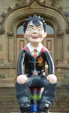 No 27 You're a wizard Wullie, Morgan Academy by Lee O'Brien