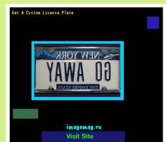 Get a custom license plate 190451 - The Best Image Search