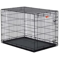 Midwest Homes for Pets Life Stages Single-Door Folding Metal Dog Crate - Black - 36 X 24 X 27 Inch - Great quality, just buy it.This MidWest Homes for Pets that Airline Pet Carrier, Dog Carrier, Large Dog Crate, Large Dogs, Small Dogs, Wire Dog Crates, Wire Crate, Dog Steps