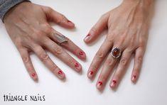 scotch tape nail art http://blog.freepeople.com/2012/12/3-nail-art-designs-scotch-tape/