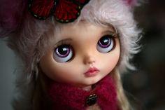 RESERVED - Sophie - custom Blythe Doll by Blue Butterfly Dolls by BlueButterflyDolls on Etsy https://www.etsy.com/listing/476540118/reserved-sophie-custom-blythe-doll-by