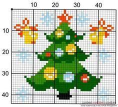 новогодние схемы вышивки крестом: 54 тыс изображений найдено в Яндекс.Картинках