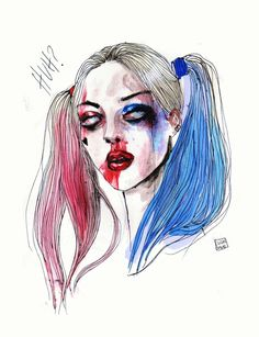 Suicide Squad Harley Quinn by lucasbavid.tumblr.com