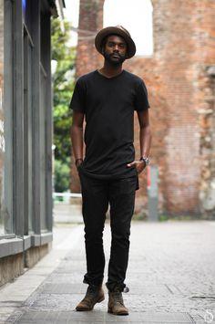 Gary Clark Jr Photo by Stefano Carloni Mens Fashion, Fashion Outfits, Men's Outfits, Fashion 2015, Fall Fashion, Gary Clark Jr, All Black Fashion, Men Style Tips, Style Men