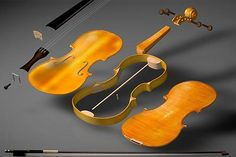 The parts of a violin. Violin Instrument, Cello, Violin Lessons, Music Lessons, Violin Family, Violin Online, Violin Makers, Hurdy Gurdy, Deconstruction