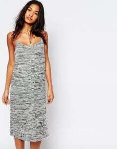 ASOS Cami Dress With Button Front