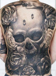 Tattoo Artist - Carlos Rojas | www.worldtattoogallery.com/back_tattoos